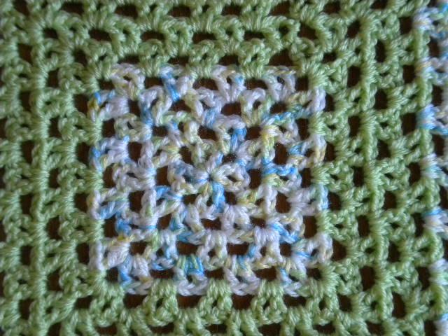 V Stitch Granny Baby Blanket Free Crochet Pattern Artsy Daisy Crochet