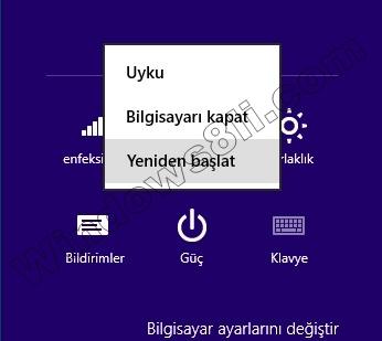 Windows 8 Güvenli Mod