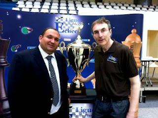 Diego Salazar nous avait annoncé sa candidature pour le poste de Président de la FFE lors du dernier championnat de Paris 2012 - Photo © Chess & Strategy