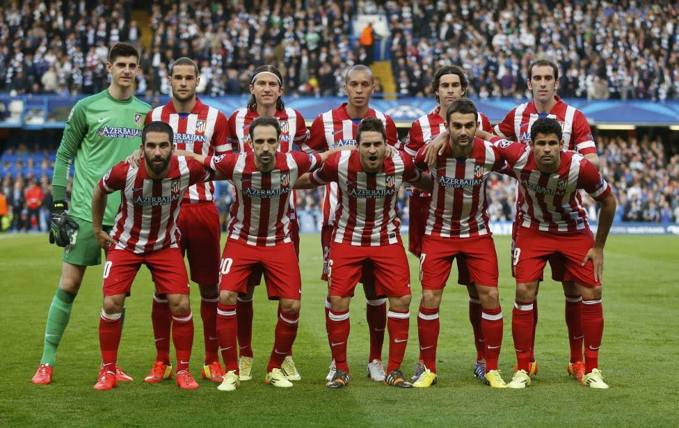 ATLETICO DE MADRID TEAM PHOTO