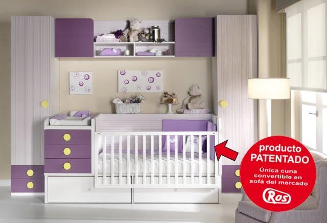 Cunas convertibles en cama transformables - Habitacion convertible bebe ...