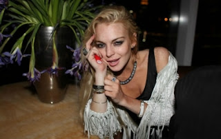 Lindsay Lohan is believed to have been drunk when she hit the pedestrian