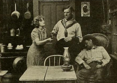 Marguerite Clayton and G.M. Anderson in a Broncho Billy film