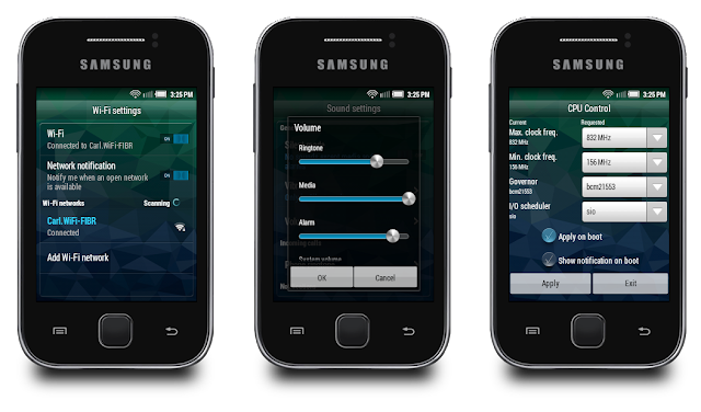 Custom Rom for Samsung Galaxy