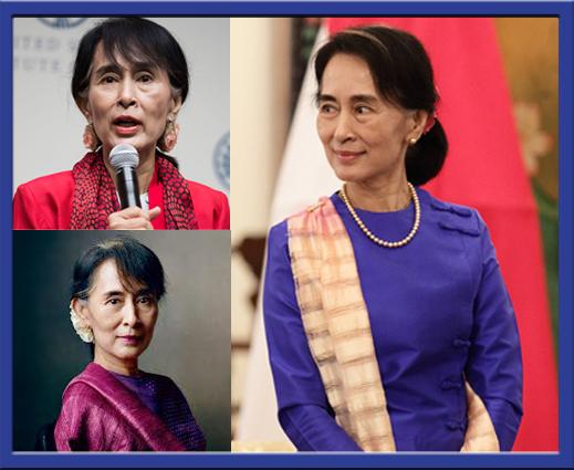 Sekilas tentang sosok AungSan Suu Kyi