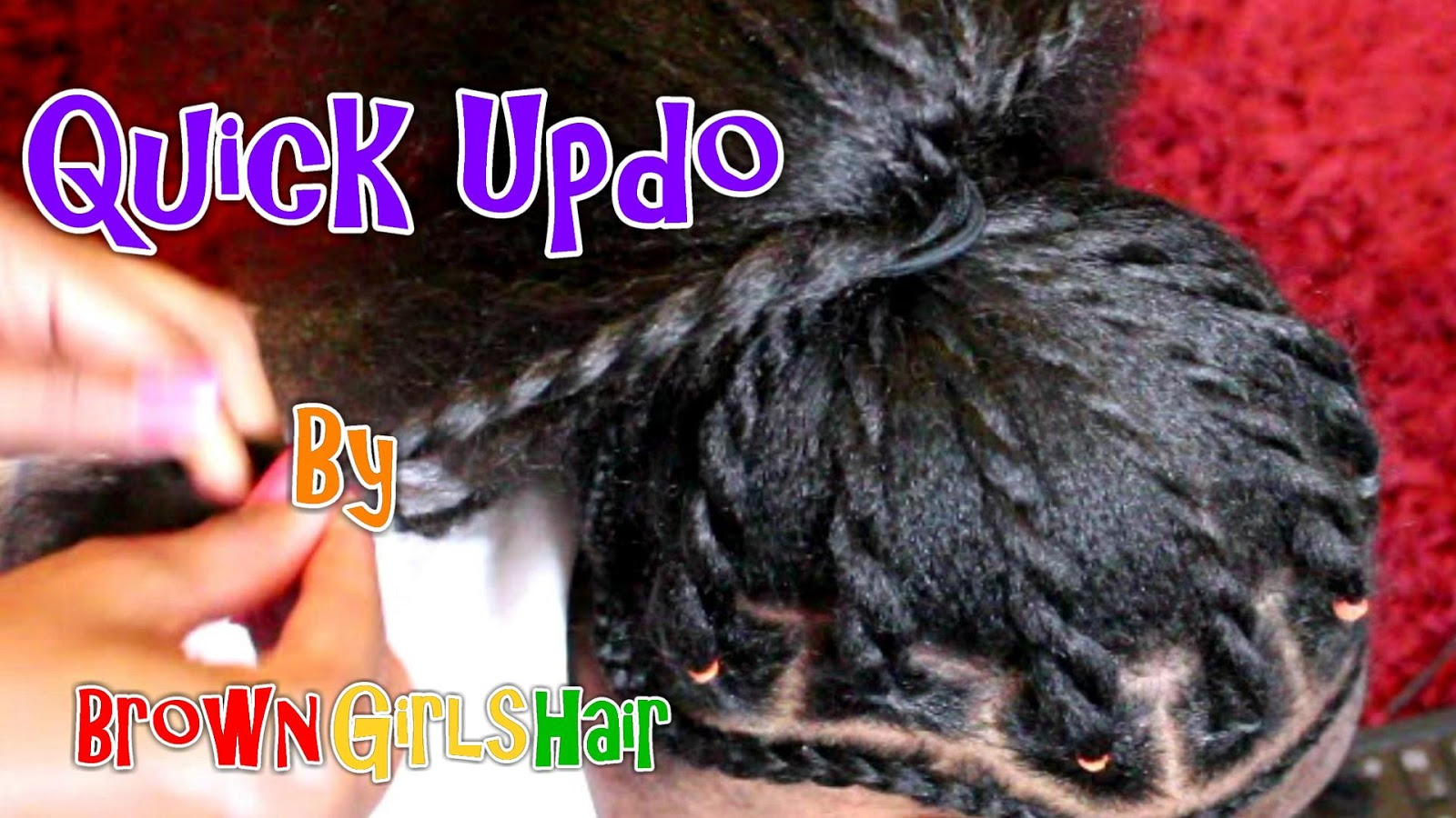 updo, tutorial, natural hair, hairstyles, girls, women, black hair care, biracial