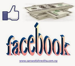 earn online in Nepal with facebook