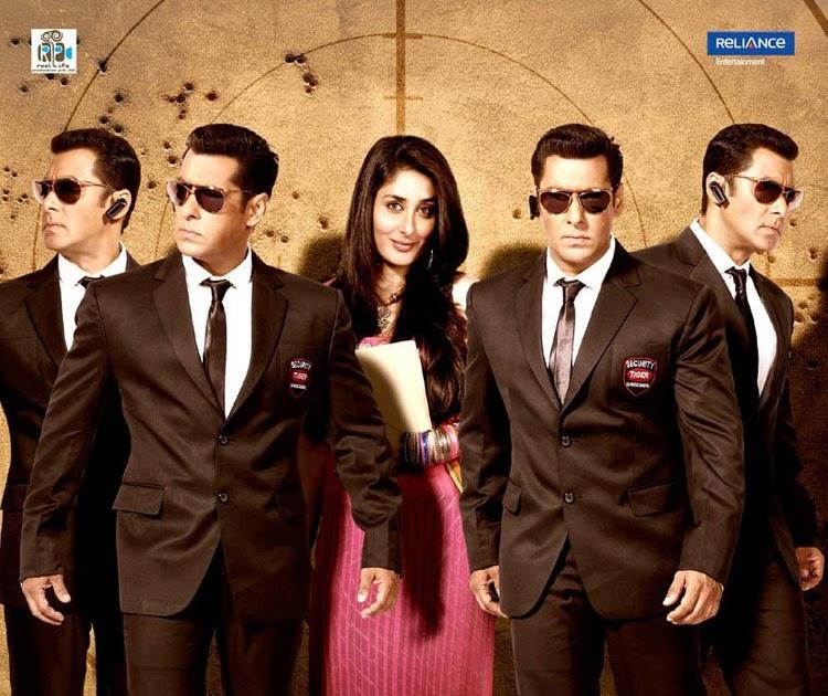 Bollywood Sheet Music September 2011: Bolly M+M: BODYGUARD {2011}