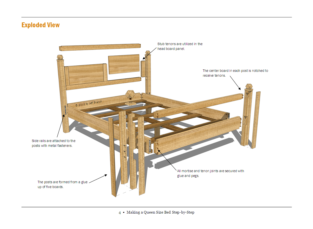 Queen Size Platform Bed Plans Free | www.woodworking.bofusfocus.com