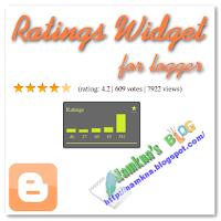 Đánh giá bài viết hình ngôi sao và lượt xem trang (Ratings widget) với Graddit.com