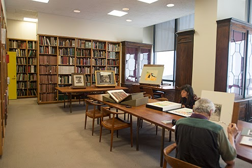 The Met's Print and Drawing Study Room