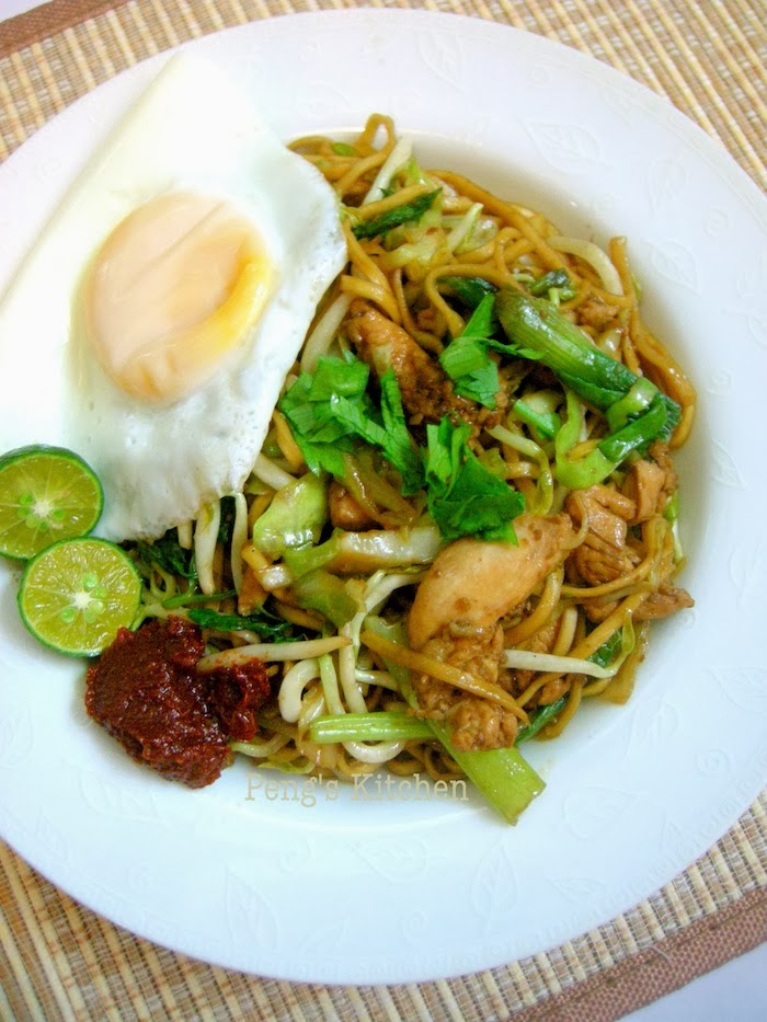Peng's Kitchen: Indonesian Fried Noodle (Mie Goreng Java)