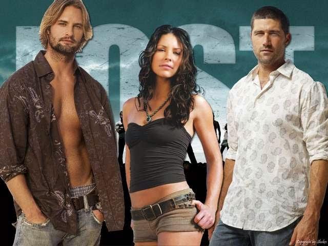 El famoso triangulo amoroso de la serie de Tv Lost.