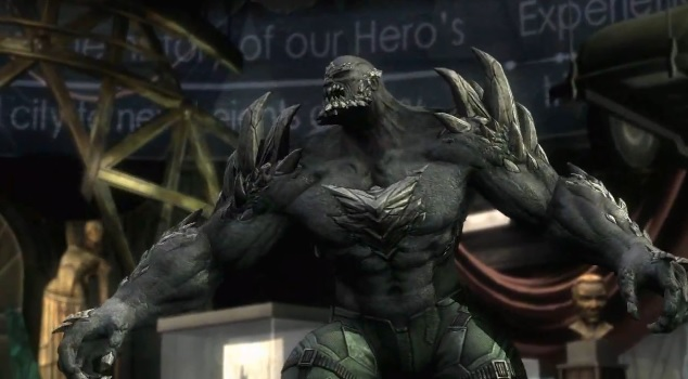 Doomsday in the video game Injustice: Gods Among Us
