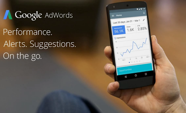 application Adwords pour Android