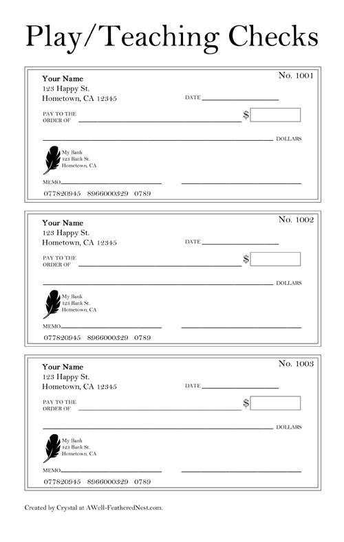 Print Sample Blank Checks Bank Check Writing Template - oukas.info