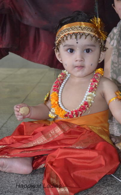 baby krishna+South Indian