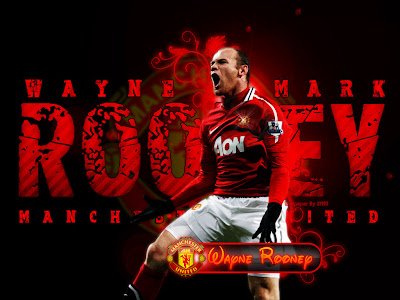 Rooney Wallpaper Manchester United