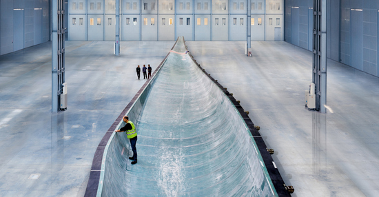 75m wind turbine blade mould