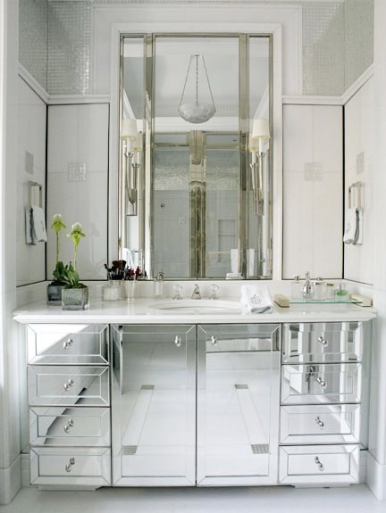 mirrored vanities are the divas of the bathroom vanity world they are