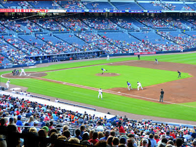 Atlanta Braves game at Turner Field