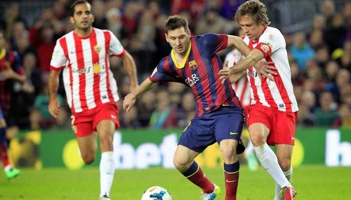 Barcelona vs Almeria en vivo