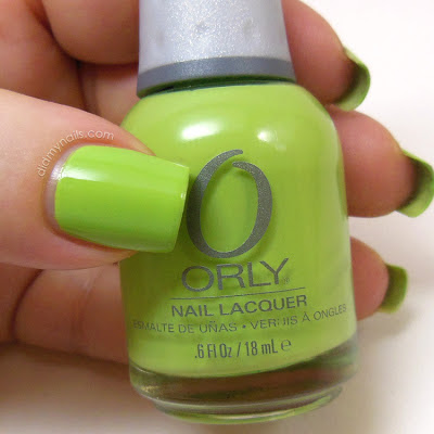 Orly Green Apple swatch