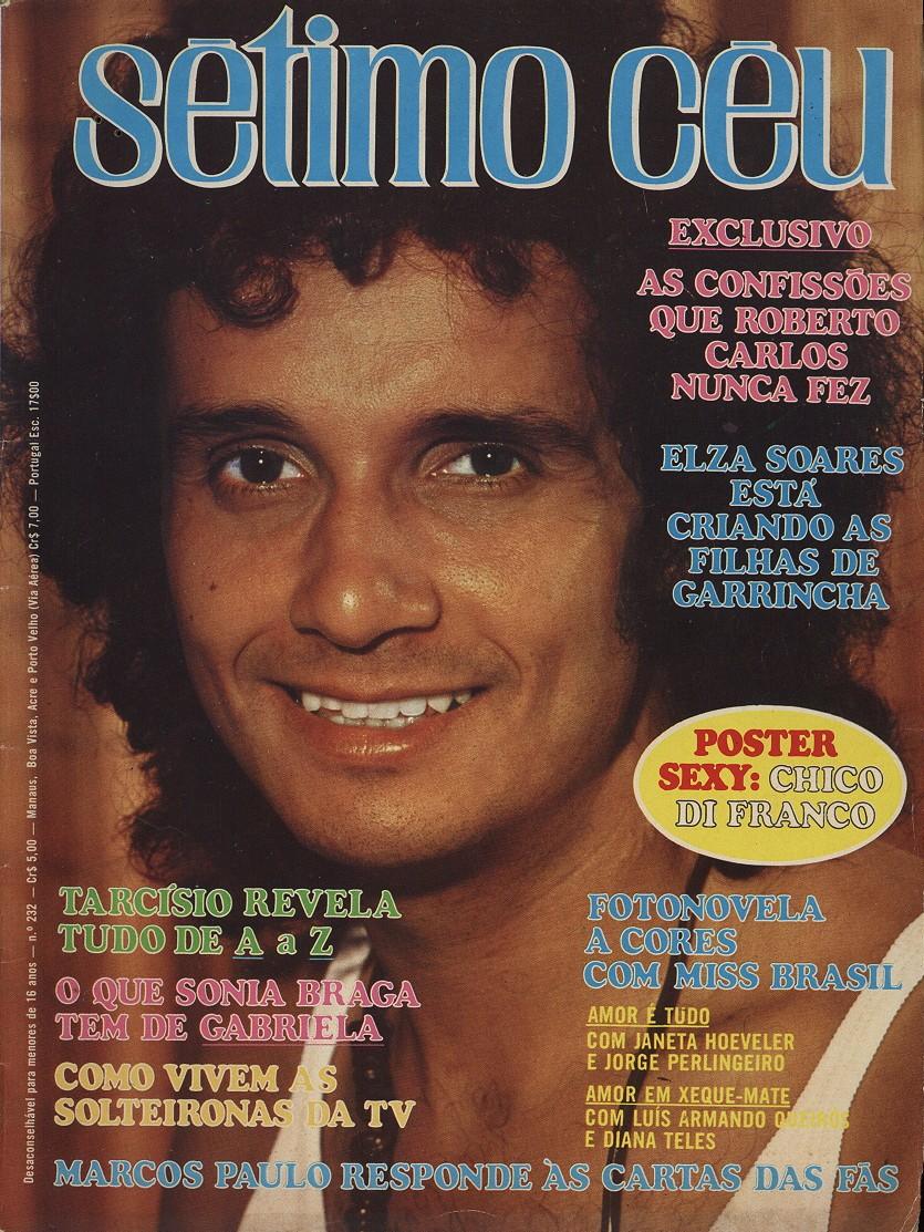 REVISTA SÉTIMO CÉU - Nº 232 - JULHO DE 1975
