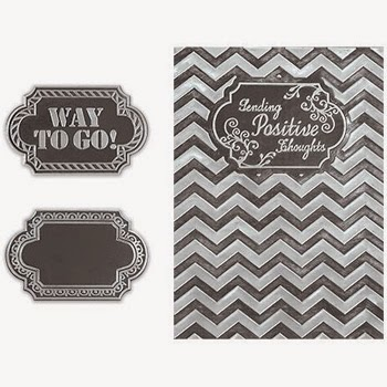 Spellbinders Interchangeable Embossing Folder Chevron SBIF-010