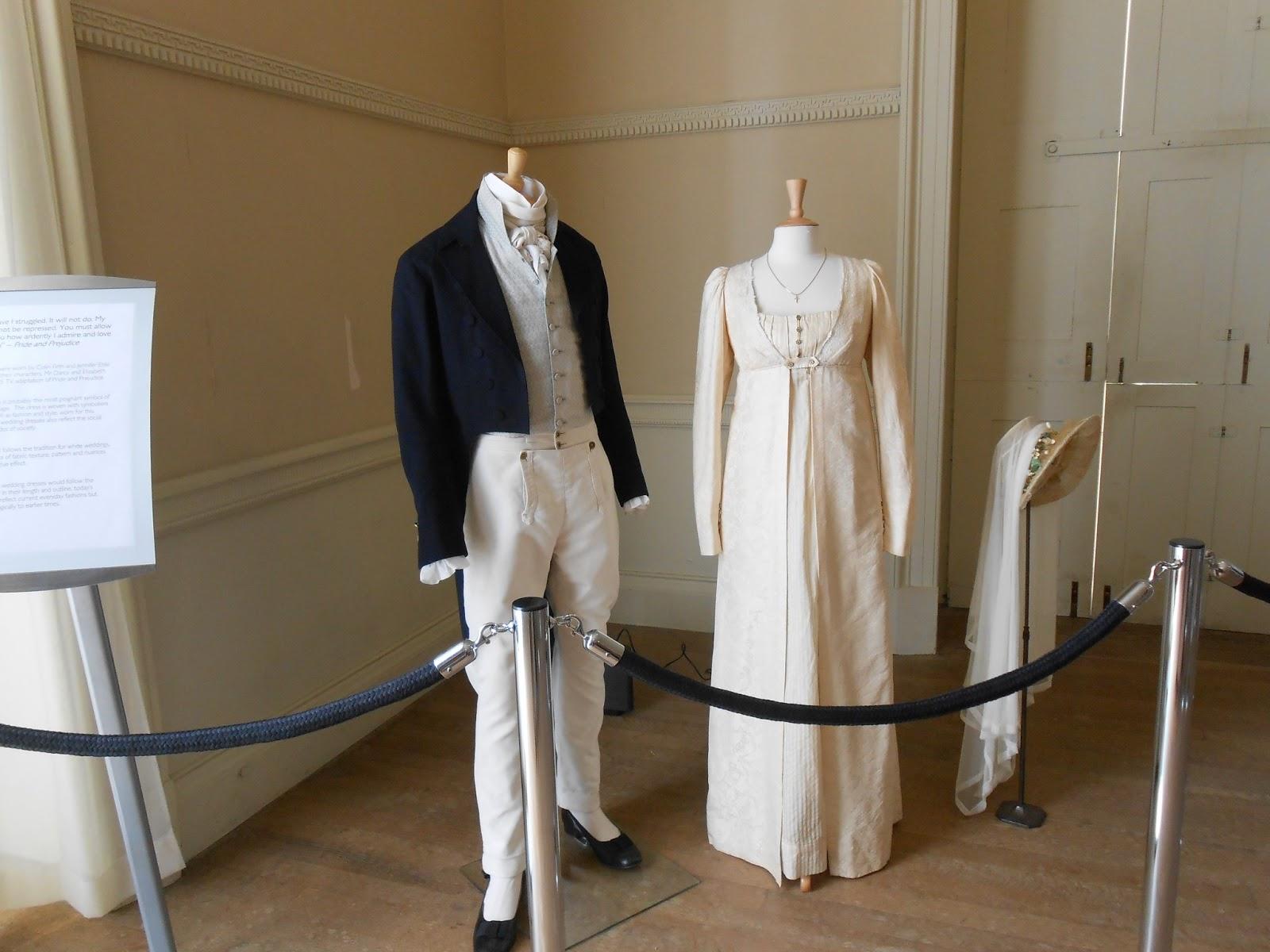 Exposition de costumes austeniens à Belsay Hall DSCN1125