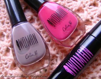 Zbiorcza recenzja: Kosmetyki Celia Woman