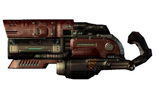Railgun Quake 4 Video game weapons