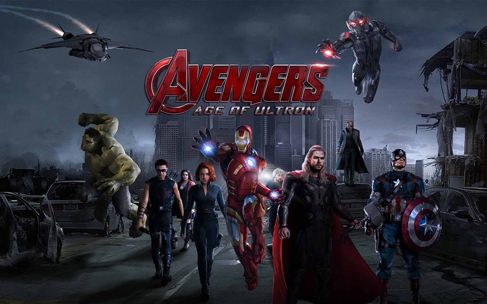 Avengers Age of Ultron Wallpaper Download HD