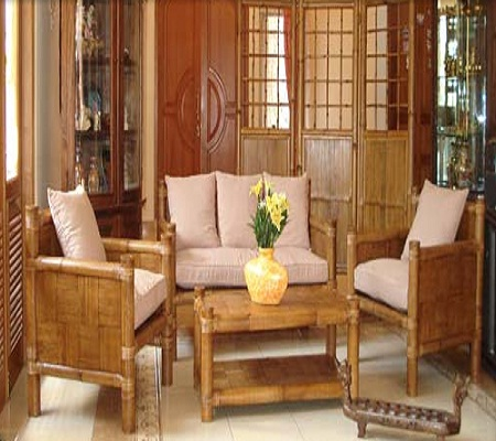 Bamboo Chair That Embos The Beauty Of Living Room Has Feel Modern Ethnic