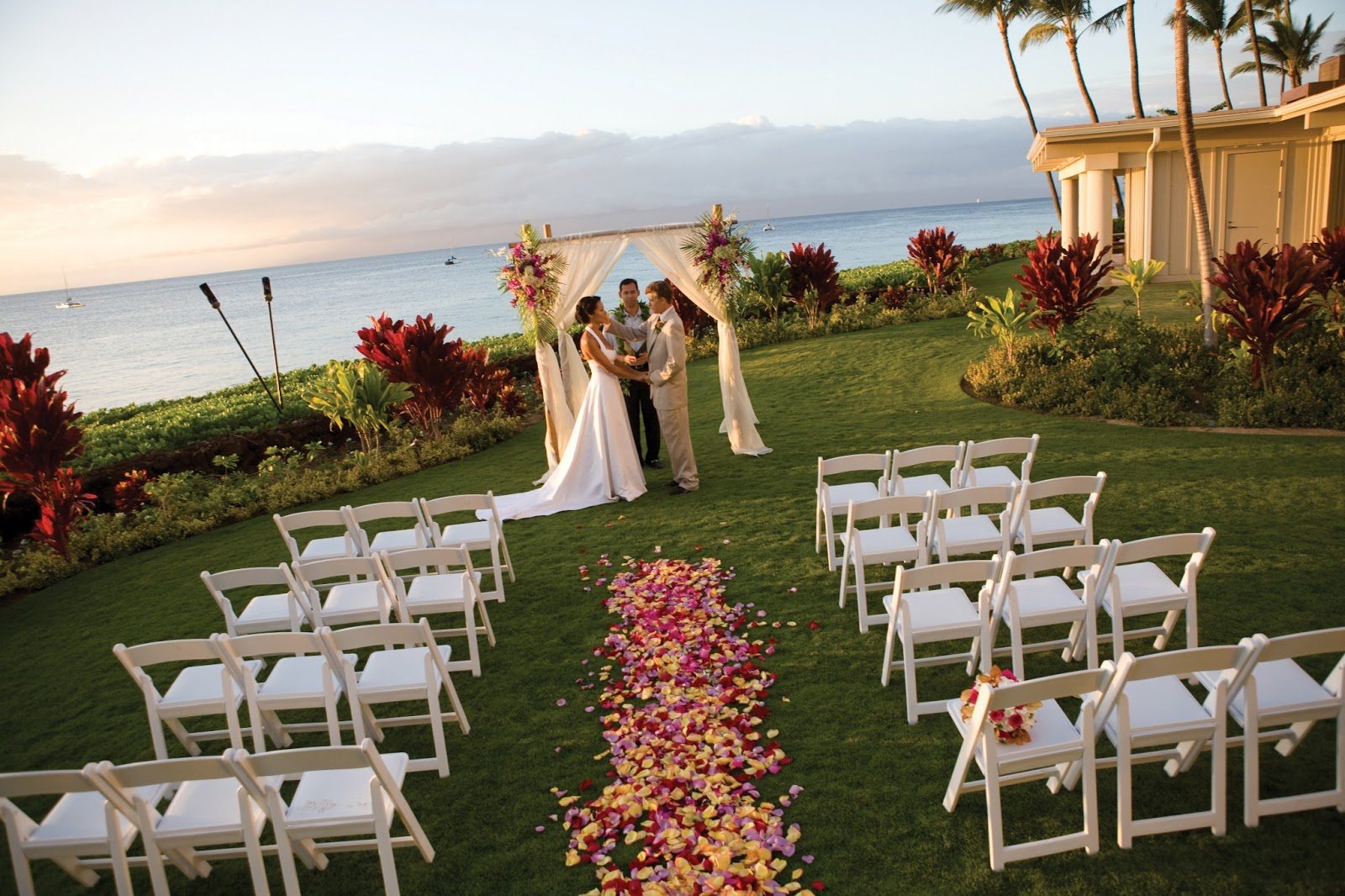 ask about honeymoons get married on maui at the royal