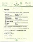 Shaklee Halal Certificate 2017