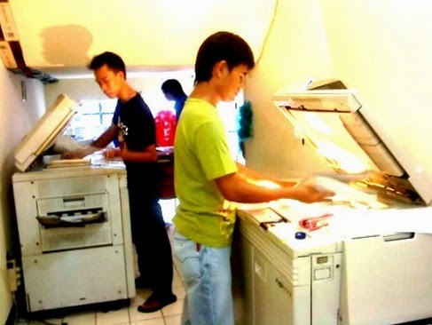 Pelanggan Fotocopy Cerewet