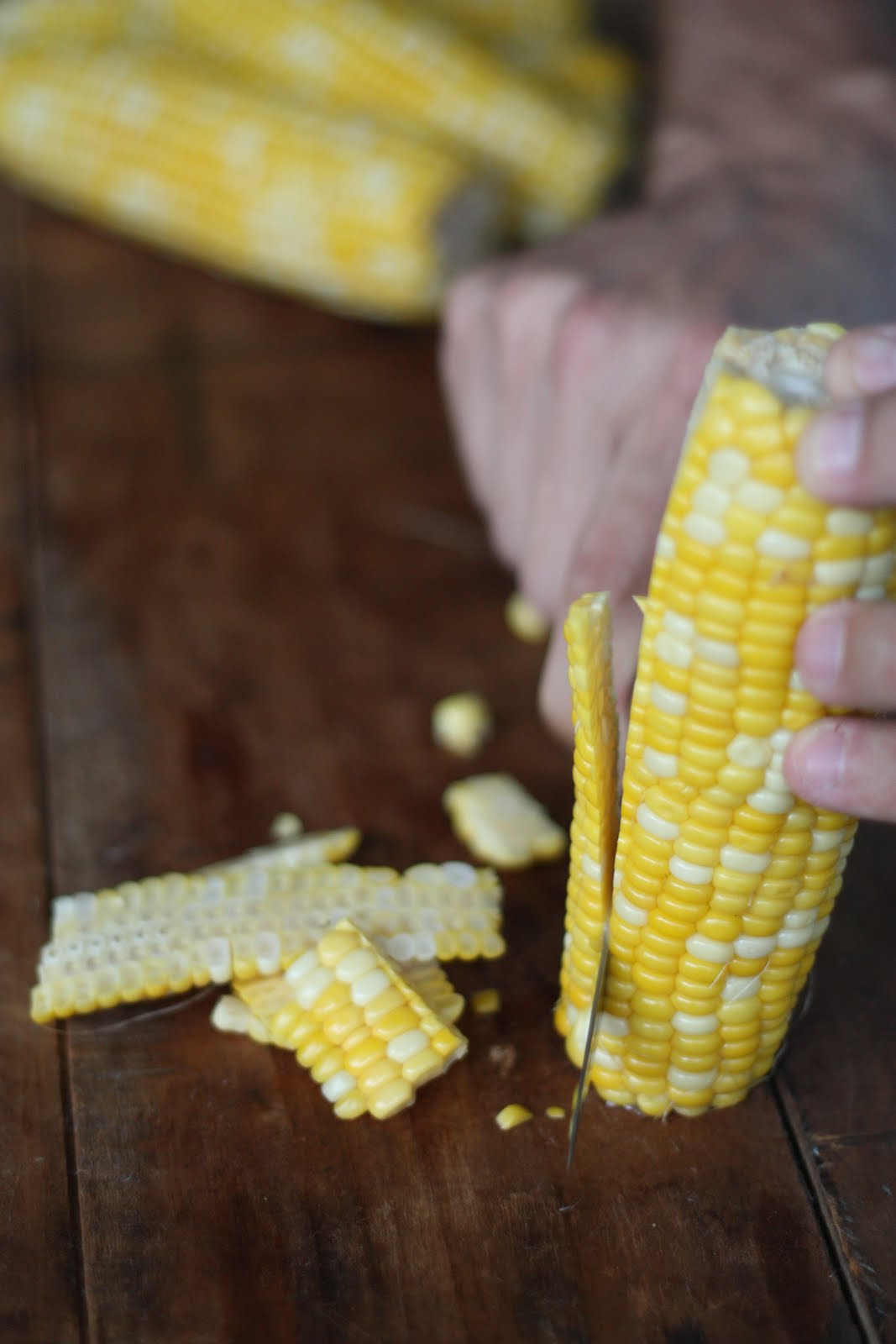 E.A.T.: Roasted Corn with Manchego & Lime