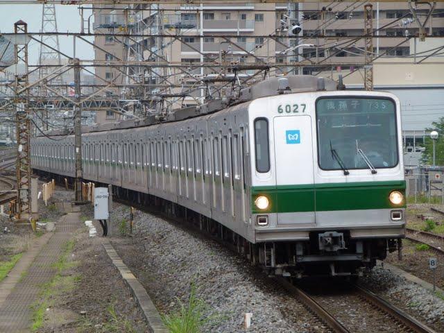 東京メトロ千代田線 我孫子行き1 6000系幕式