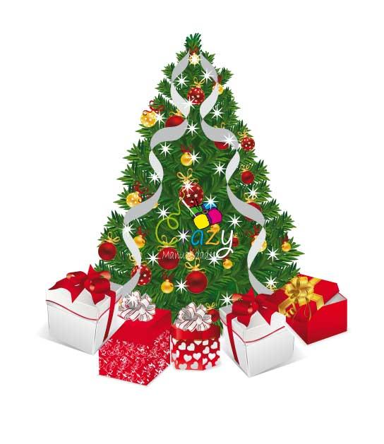 Crazy manualidades como decorar un arbol de navidad con - Ver arboles de navidad ...