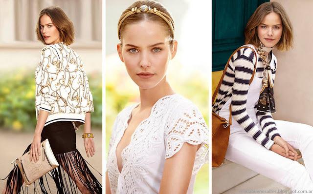 Moda 2016. Uma primavera verano 2016 ropa de mujer Argentina.