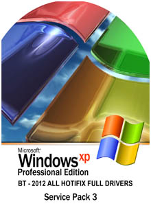 58 Windows Xpbt SP3 2012 All Hotfix Full Drivers