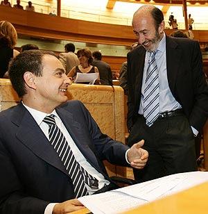 Discurso de Rubalcaba contra la banca para