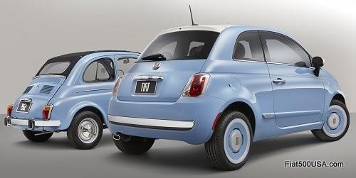 Fiat 500 1957 Edition and Original