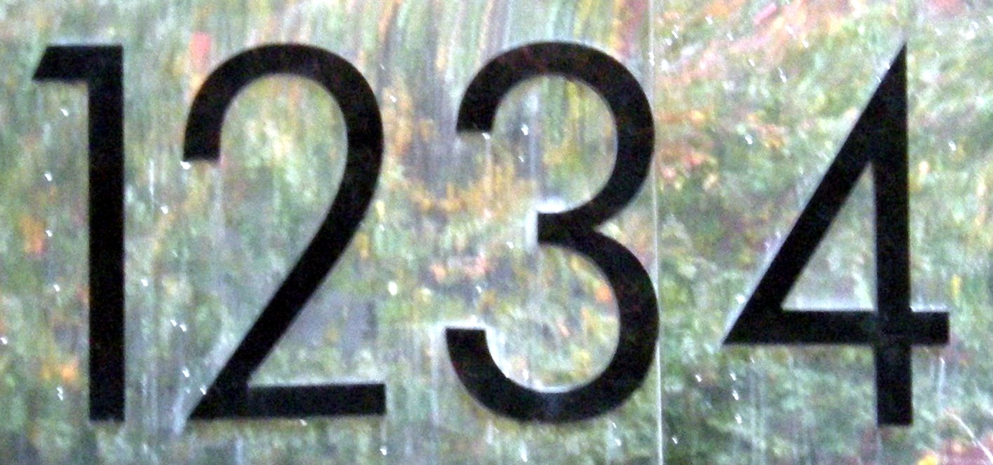 numberaday  1234