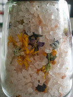 Getrockneter essbare Blüten