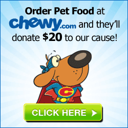 SHOP CHEWY TO BENEFIT TEN LIVES CLUB