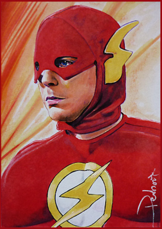 Flash-Sheldon por DavidDeb