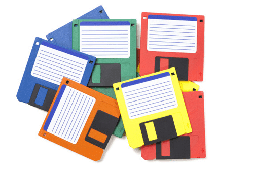 eski disketler