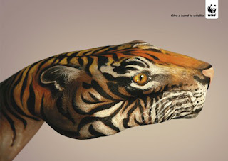 Amazing Animal Hand Painting